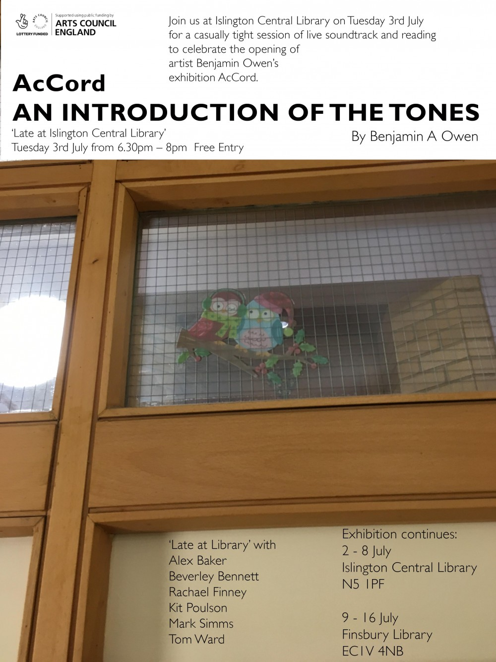LIBRARY TONES POSTER web